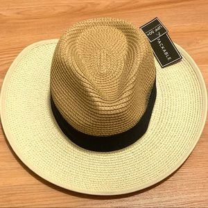 Magid Hats UPF 50+ Straw Fedora Hat with Bow